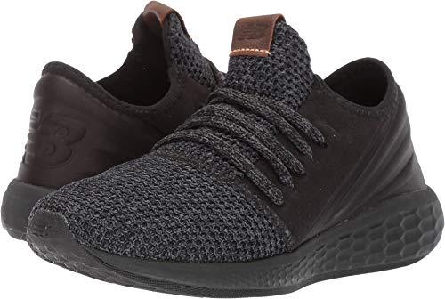 (New Balance Women's Cruz V2 Fresh Foam Running Shoe, Black/Magnet/Nimbus Cloud, 10 D US)