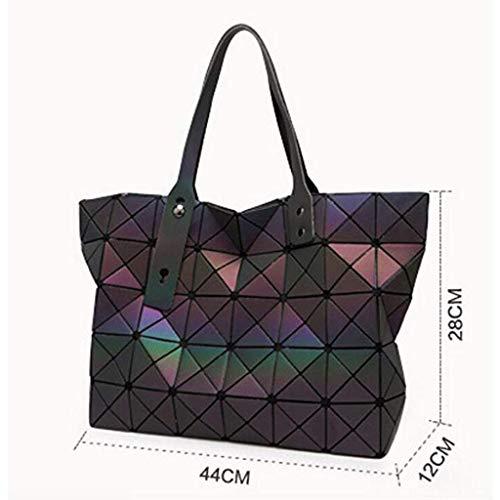 Geometrica Di Pieghevole Borsa Femminile Borse Tracolla Moda Varietà A qx8Ht