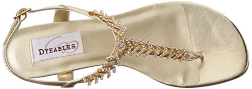 Dyeables Inc Gold Gold Dyeables Womens Inc Womens Metallic Metallic BBarU