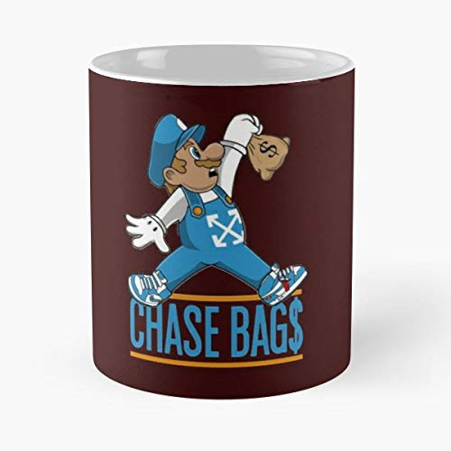 Chase Hawk Paw Patrol Toys Character - White -coffee Mug- Unique Birthday Gift-the Best Gift For Holidays- 11 Oz.