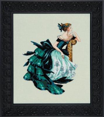 Portrait of Veronica  Cross Stitch Chart