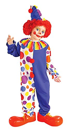 Forum Novelties Clown Child's Value Costume