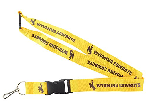 aminco NCAA Wyoming Cowboys Team Lanyard from aminco