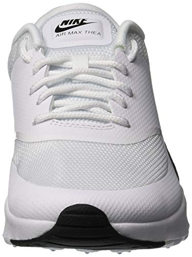 Baskets 111 White White NIKE Blanc Femme Thea Air Max Black Basses qxwgPv