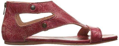 Lit Stu Femmes Soto Sandale Plate Rouge Lux