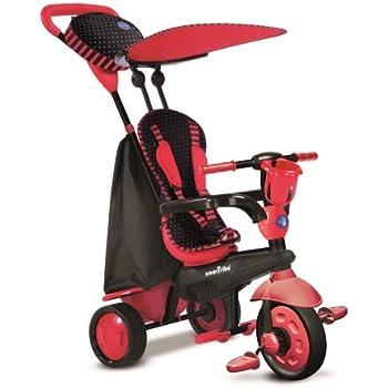smarTrike Spark 4 in 1 Baby Trike - Red