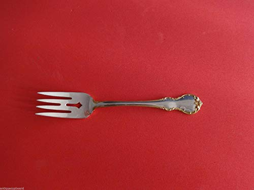 French Provincial Gold Accent by Towle Sterling Silver Salad Fork 6 1/4
