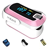 Best Oximeters - mibest Pink Dual Color OLED Finger Pulse Oximeter Review