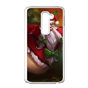 LG G2 White phone case League of Legends Gragas LOL4366089