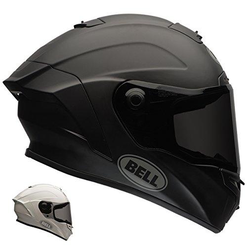 Bell Star Full-Face Motorcycle Helmet (Solid Matte Black, X-Small) (Best Budget Motorcycle Helmet)
