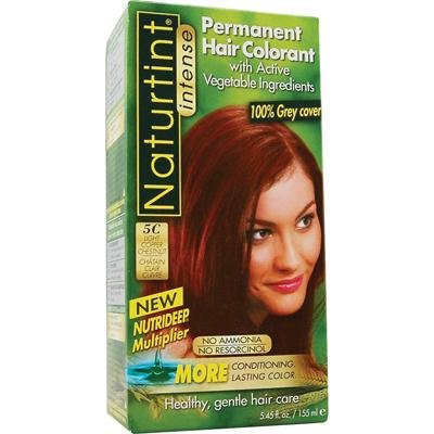 Naturtint 5C Permanent Light Copper Chestnut Haircolor Kit, 4.5 Ounce -- 3 per case.
