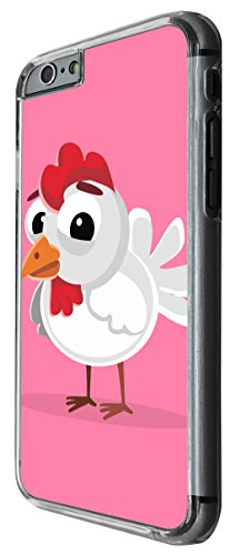 1137 - Cute Fun Chicken Animal Pinky Design For iphone 5 5S Fashion Trend CASE Back COVER Plastic&Thin Metal -Clear