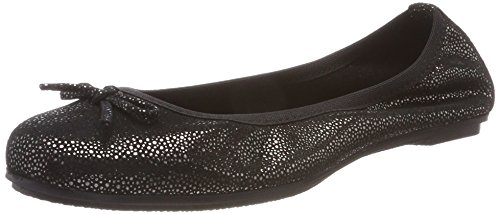 MARCO TOZZI premio Girls' 42404 Closed Toe Ballet Flats Black (Black 001)