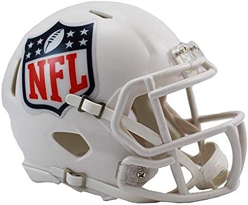 22e097f257c Riddell National Football League NFL Shield Logo Speed Mini Helm  Amazon.co. uk  Sports   Outdoors