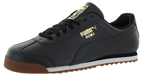 PUMA Men's Roma Basic Gld Fashion Sneaker, Asphalt-Asphalt, 11 M US