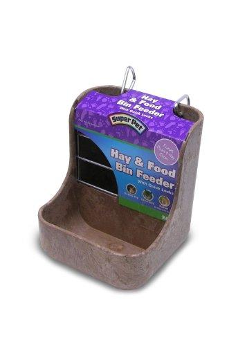 Super-Pet-Hay-n-Food-Bin-Feeder-with-Quick-Locks