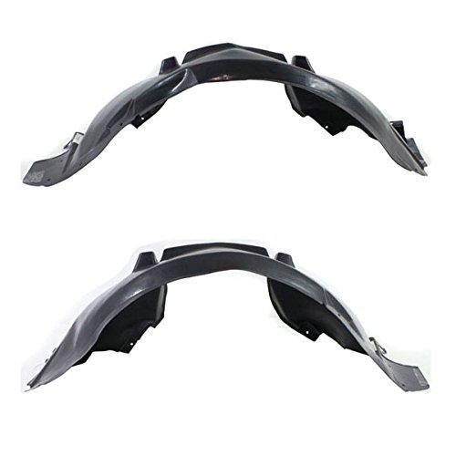 Koolzap For 04-08 S-Type Front Splash Shield Inner Fender Liner Panel Left & Right SET ()