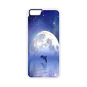 Dolphins Pattern Hard Case Cover For Iphone Case 6 5.5 Inch HSL387333