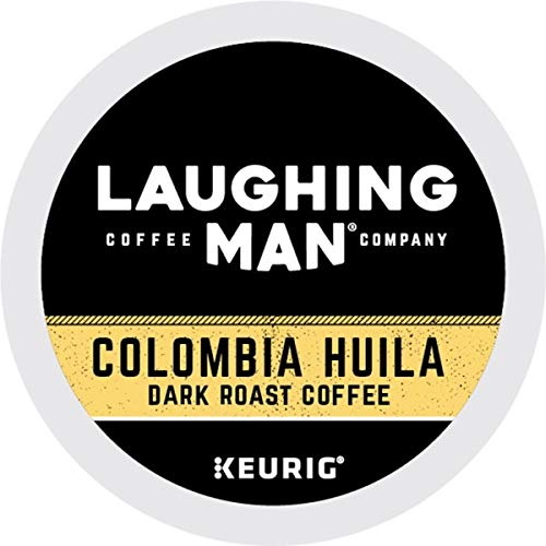 Laughing Man, Colombia Huila, Single-Serve Keurig K-Cup Pods, Dark Roast Coffee, 96 Count (6 Boxes of 16 Pods) by Laughing Man (Image #8)