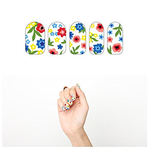 tattify-floral-nail-wraps-grandmas-wallpaper-set-of-22