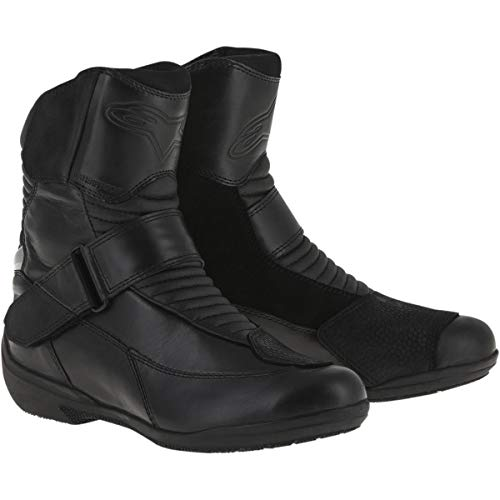 Alpinestars Valencia Waterproof Women's Street Motorcycle Boots - Black / 37