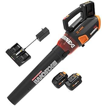 Amazon.com: WORX WG545.6 - Batería de soplador de aire ...