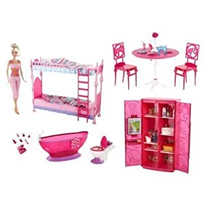 Barbie Doll Kitchen Set Games