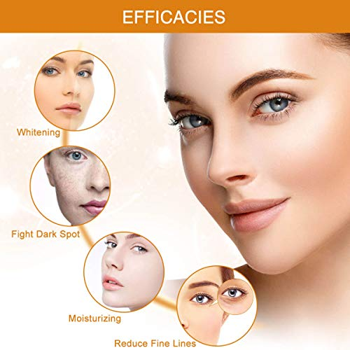 41%2BHYcktHgL - Vitamin C Serum with Hyaluronic Acid and Vitamin E Anti-Aging Moisturizing Face Serum for All Skin