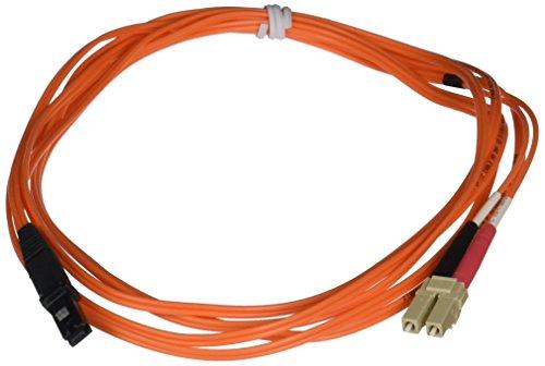 C2G 33183 OM1 Fiber Optic Cable - MTRJ-LC 62.5/1125 Duplex Multimode PVC Fiber Cable, Orange (9.8 Feet, 3 Meters)