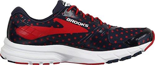 Brooks Womens Launch 3 Peacoat Navy/True Red/White ijgkS9I
