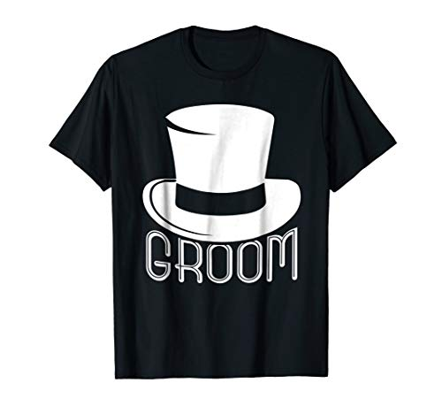 Groom Top Hat Funny Gift Wedding Shirt