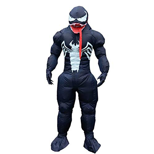 WEEOH Venom Inflatable Costume Halloween Cosplay Costumes