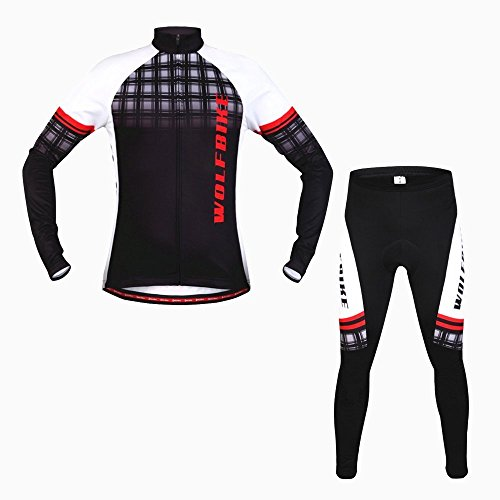 CarryTop Thermal Mountain Bike Men Jacket Breathable Long Sl