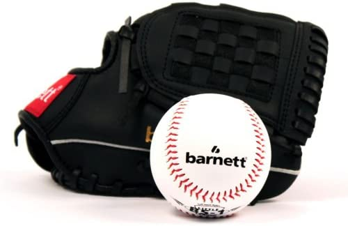 Barnett GBJL-5 - Juego de guante y pelota de béisbol (piel ...