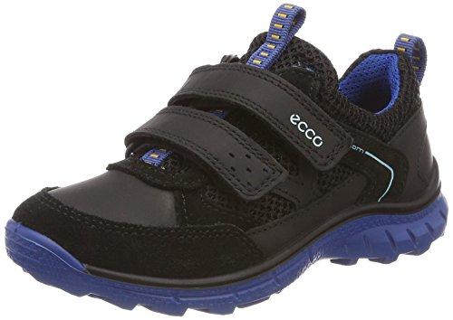 Ecco Jungen Biom Trail Kids Sneaker Schwarz (Black/Bermuda Blue)