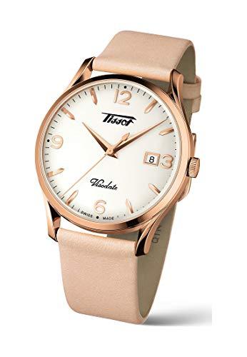 Tissot orologio Heritage Visodate 40mm acciaio PVD oro rosa quarzo T118.410.36.277.01