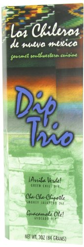 Los Chileros Dip Trio, 3 Ounce ()