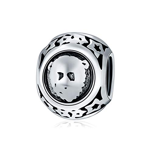 c8fa2ce8b Amazon.com: Original Silver Charms Fit Pandora Bracelet Star Zodiac ...