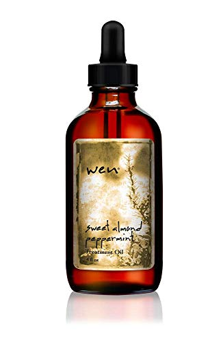 WEN Sweet Almond Peppermint Treatment Oil, 4 Fl Oz