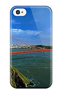 Awesome Case Cover/iphone 4/4s Defender Case Cover(golden Gate Bridge)