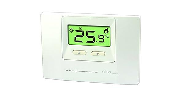 Orbis neo ml+ - Termostato digital neo ml electronico dia/noche: Amazon.es: Bricolaje y herramientas