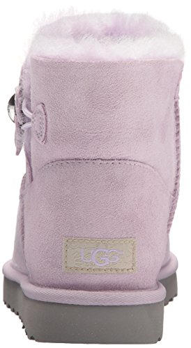 Ugg Scarpe Da Donna - Mini Bailey Button Papavero - Lavanda, Misura: 37 Eu