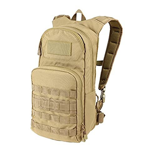 Condor Outdoor Fuel Hydration Pack - Color: Tan - Airsoft Hydration Pack