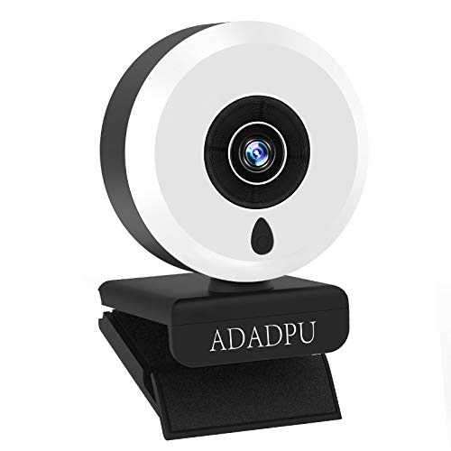 Webcam with Microphone for Desktop, 1080P HD USB Computer Cameras with Webcam Tripod, Streaming Webcam with Wide Angle for PC Zoom Video/Laptop