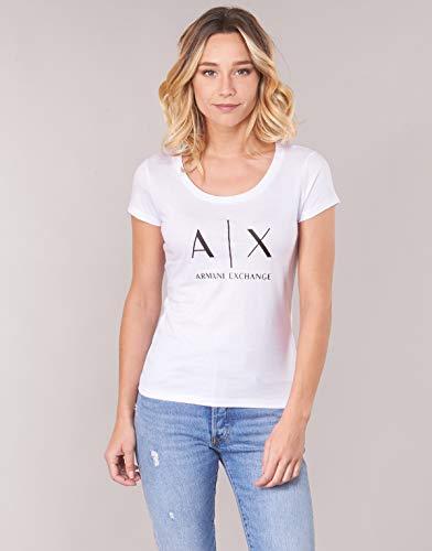 Ss optic Camiseta Logo Para Mujer Blanco Exchange White Armani 1000 TqE0xpx