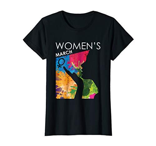 Womens Womens March 2019 Shirt - Women's March WASHINGTON T-Shirt