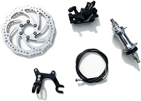 AASHOPPERS - Juego de Frenos de Disco mecánicos para Bicicleta de ...