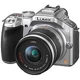 Panasonic Lumix DMC-G5KEG-S Systemkamera (16 Megapixel, 16-fach opt. Zoom, 7,6 cm (3 Zoll) Touchscreen, Full-HD Video, bildstabilisiert) silber inkl. Lumix G Vario 14-42mm OIS Objektiv