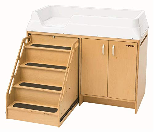 Angeles Changing Table with Locking Stairs