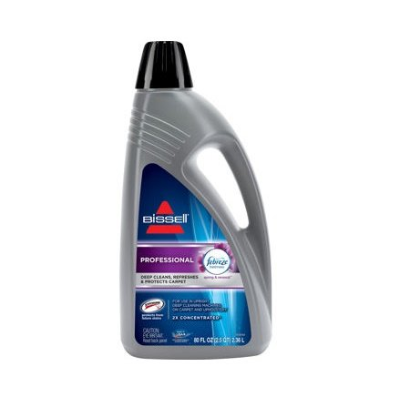 Bissell Carpet Cleaner 2x Professional Deep Cleaning Formula, 80oz